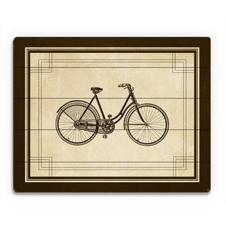 'Vintage Cycle' Wood Wall Art