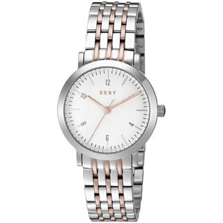 DKNY Women's NY2512 'Minetta' Two-Tone Stainless Steel Watch
