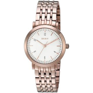 DKNY Women's NY2511 'Minetta' Rose-Tone Stainless Steel Watch