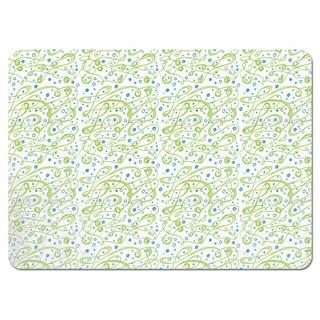 Green Swirls Placemats (Set of 4)