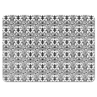 Loretta Black White Placemats (Set of 4)