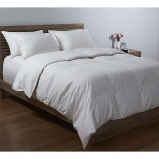 Waverly Modern Diamond Jacquard Down Comforter