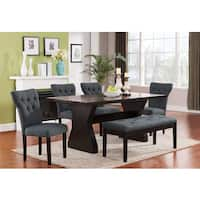 Effie Button Tufted Dining Chair (Set of 2)