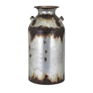 Crocket Large Metal Vase