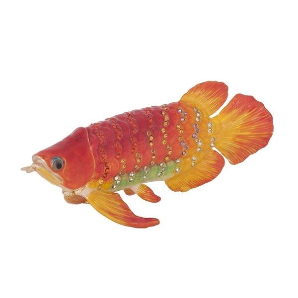 Koi Fish Trinket Box