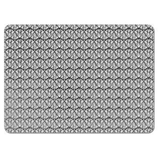 Diamond Black Placemats (Set of 4)