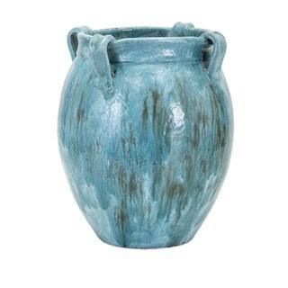 Castine Large Teal Vase