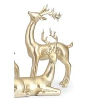 Reindeer- Gold -Right Holiday Decoration