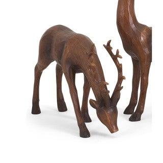 Reindeer- Natural-Left Holiday Decoration
