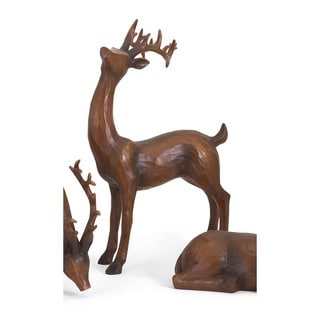 Reindeer- Natural-Right Holiday Decoration