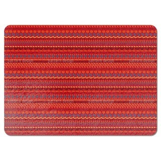 Multi Kulti Red Placemats (Set of 4)