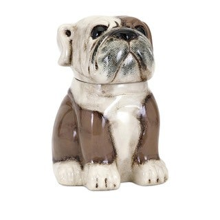 Max Bulldog Cookie Jar
