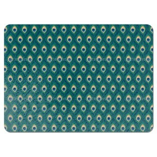 Thousand and One Peacock Feathers Placemats (Set of 4)