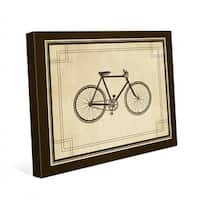 Vintage Bicycle Canvas Wall Art