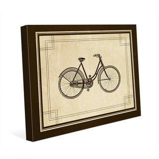 'Vintage Cycle' Canvas Wall Art