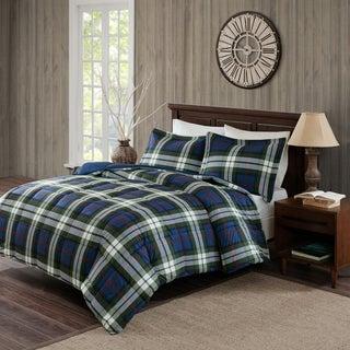 Woolrich Rob Roy Blue Printed Softspun/Microfiber Comforter Set