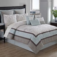Arianna 10-piece Comforter Set with 4 Decorative Accent Pillows