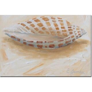 WGI Gallery 'Sea Shell #4' Wall Art Printed on Wood