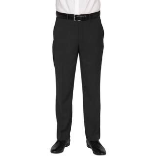 Kenneth Cole New York Men's Technicole Black Polyester-blend Trousers|https://ak1.ostkcdn.com/images/products/12714409/P19495607.jpg?impolicy=medium
