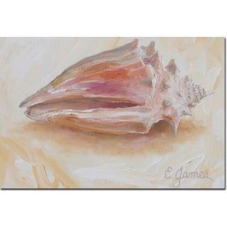 WGI Gallery 'Sea Shell #2' Wall Art Printed on Wood