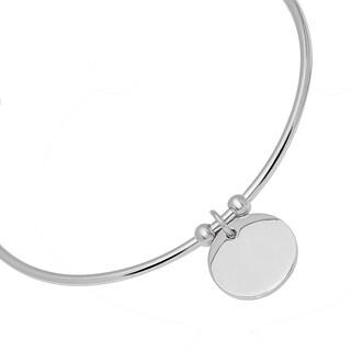 Piatella Ladies Stainless Steel Charm Cuff Bracelet in 2 Colors