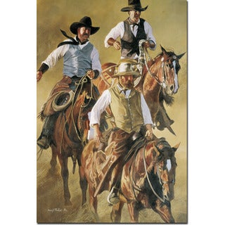 WGI Gallery 'That Western Spirit' Wall Art Printed on Wood (More options available)