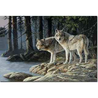 WGI Gallery 'Shades of Grey' Wall Art Printed on Wood