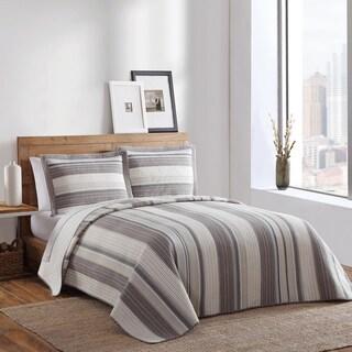 Brooklyn Loom Decatur Yarn-Dyed 3-piece Quilt Set