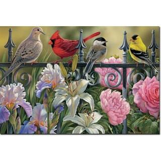 WGI Gallery 'Songbird Elements' Wall Art Printed on Wood