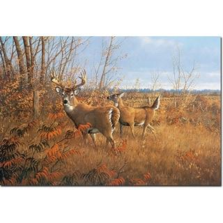 WGI Gallery 'Sumac Buck' Wall Art Printed on Wood