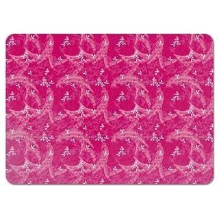 Bush Clover Asia Pink Placemats (Set of 4)