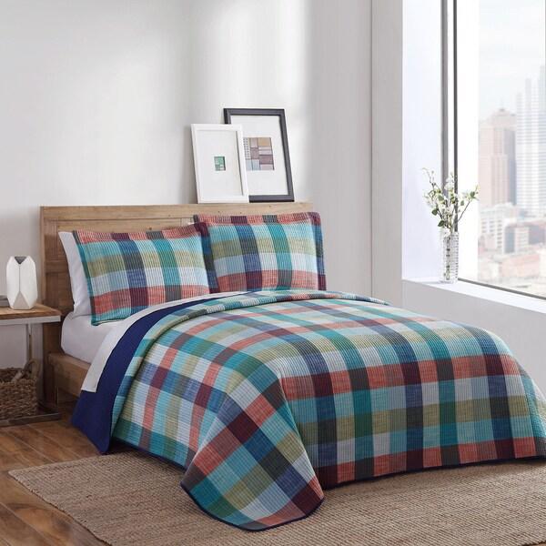 Brooklyn Loom Rockaway Yarn-Dyed 3-piece Quilt Set