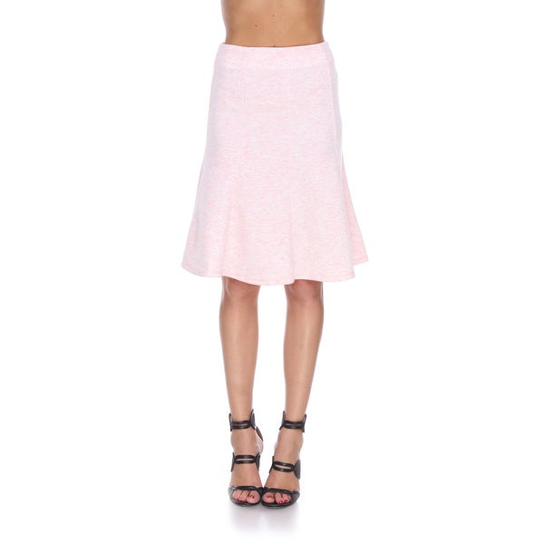 stanzino s polyester and spandex a line flared skirt