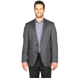 Kenneth Cole Reaction Men's Black and White Sportcoat|https://ak1.ostkcdn.com/images/products/12714943/P19495710.jpg?impolicy=medium