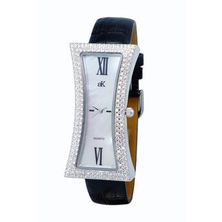 Design by Addee Kaye Ladies 'Curvacious' Crystal Watch