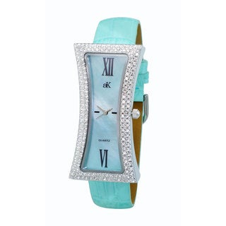 Adee Kaye Ladies Curvacious Crystal Watch Design