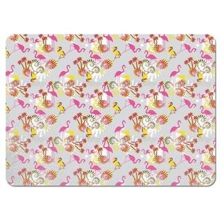 Miami Pink Flamingo Placemats (Set of 4)