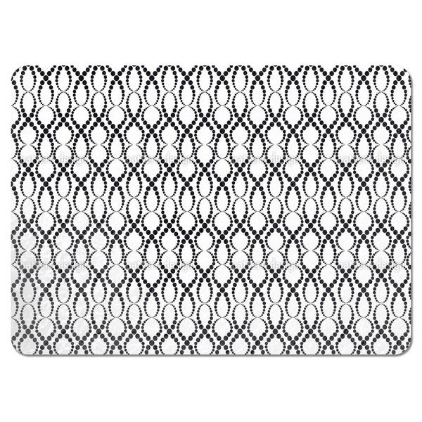 White Pearls Placemats (Set of 4)