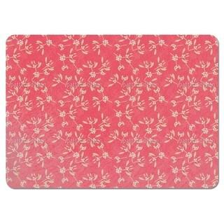 Mistletoe Pink Placemats (Set of 4)