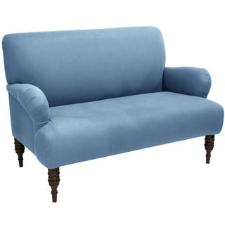 Skyline Furniture Linen Denim Settee