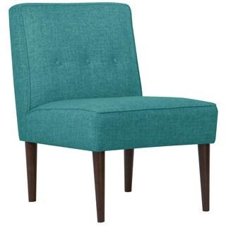 Skyline Furniture Zuma Peacock Three Button Armless Chair