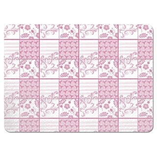Painted Art Pink Placemats (Set of 4)