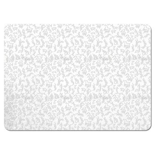 Trigger White Placemats (Set of 4)