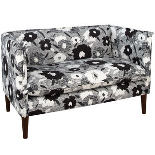 Skyline Furniture Carys Ink French Seam Settee