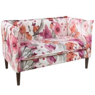 Skyline Furniture Belissa Blush French Seam Settee