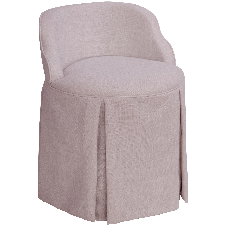 Skyline Skyline Linen Smokey Quartz Vanity Chair (Smokey ...