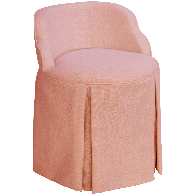 Skyline Skyline Linen Petal Vanity Chair (Petal), Pink (F...