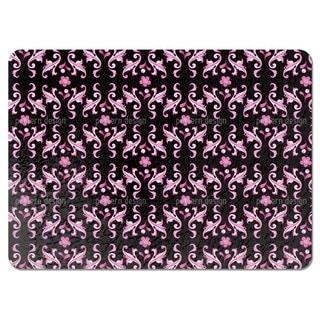 Baroquo Folk Pink Placemats (Set of 4)