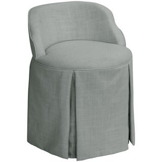 Skyline Furniture Skyline Linen Grey Vanity Chair