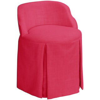 Good Skyline Furniture Skyline Linen Fuchsia Vanity Chair